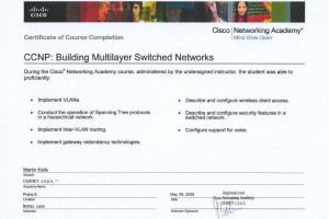 CCNP3 – Building Multilayer Switched Networks