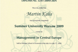 Summer University Warsaw 2009