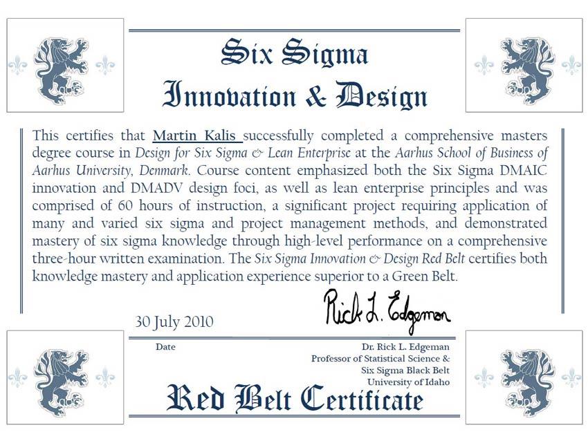 Lean six sigma dissertation