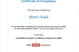 IBM Internship – Competitive analysis of software solutions on SIEM market