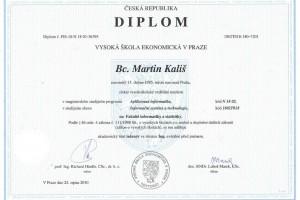 Master degree – Ing. Martin Kališ