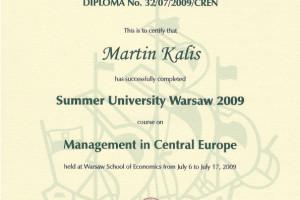 Summer University Warsaw 2009