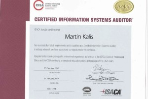 CISA (Certified Information Systems Auditor)