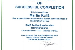 ISMS Lead Auditor (ISO/IEC 27001)